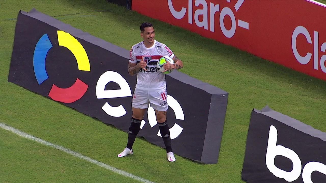 O mais recente foi o segundo gol sobre o Fortaleza, pela Copa do Brasil