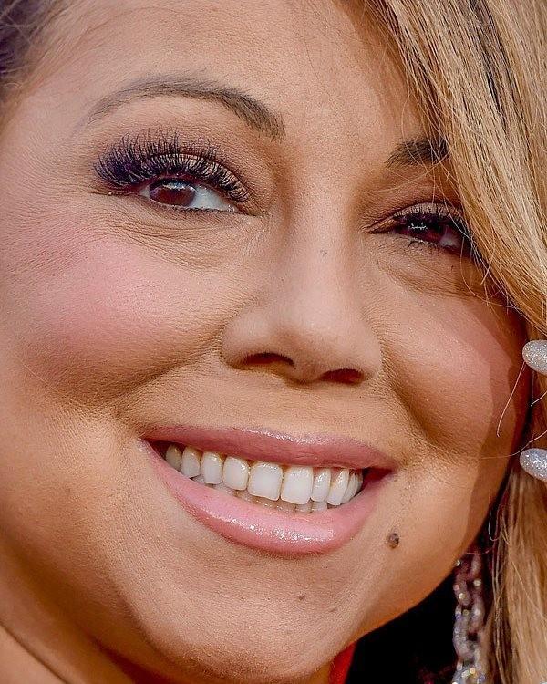 Close no rosto de Mariah Carey (Foto: Reprodução/Instagram)