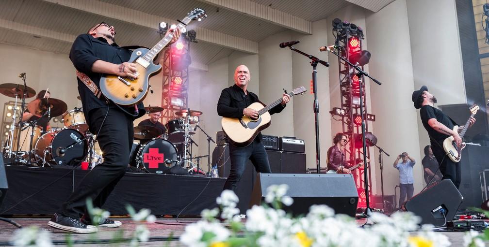 Live se apresenta no Lollapalooza EUA 2017 (Foto: Divulgação/Max Herman)