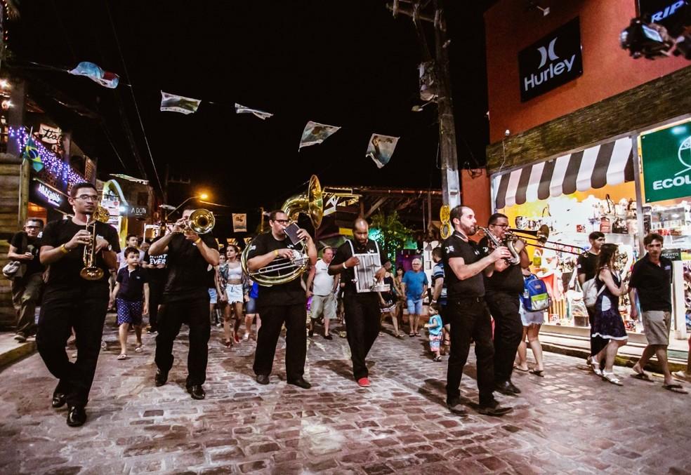 Fest Bossa & Jazz segue até este domingo (16) em Pipa, no Litoral Sul potiguar — Foto: Brunno Martins