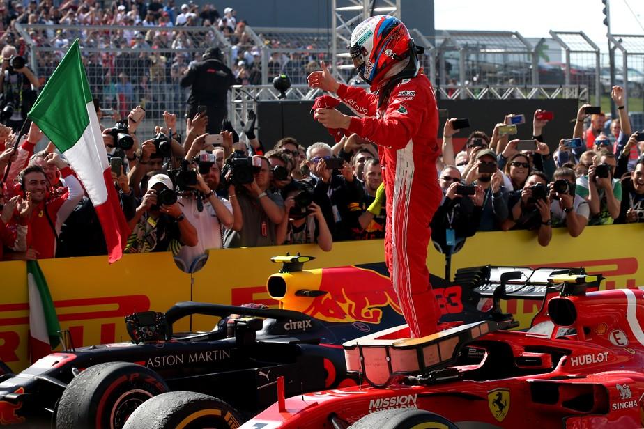 Ferrari volta a vencer, enquanto Mercedes sofre com os pneus: uma análise do GP dos EUA