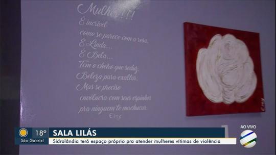 Município do interior de MS com maior taxa de violência doméstica inaugura 1ª Sala Lilás: 'Atendimento acolhedor'