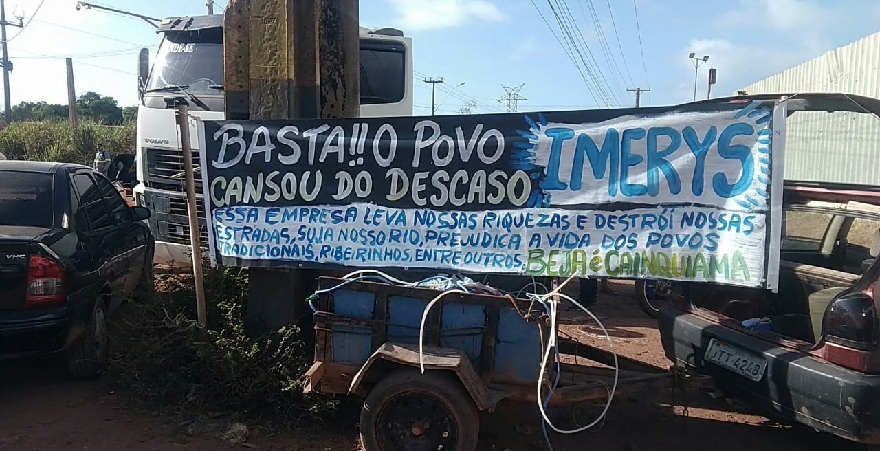 Moradores de Barcarena protestam no Trevo do Peteca - Notícias - Plantão Diário