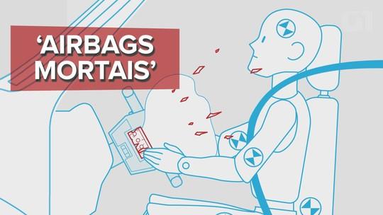 'Airbags mortais' ainda equipam mais de 1 milhão de veículos no Brasil