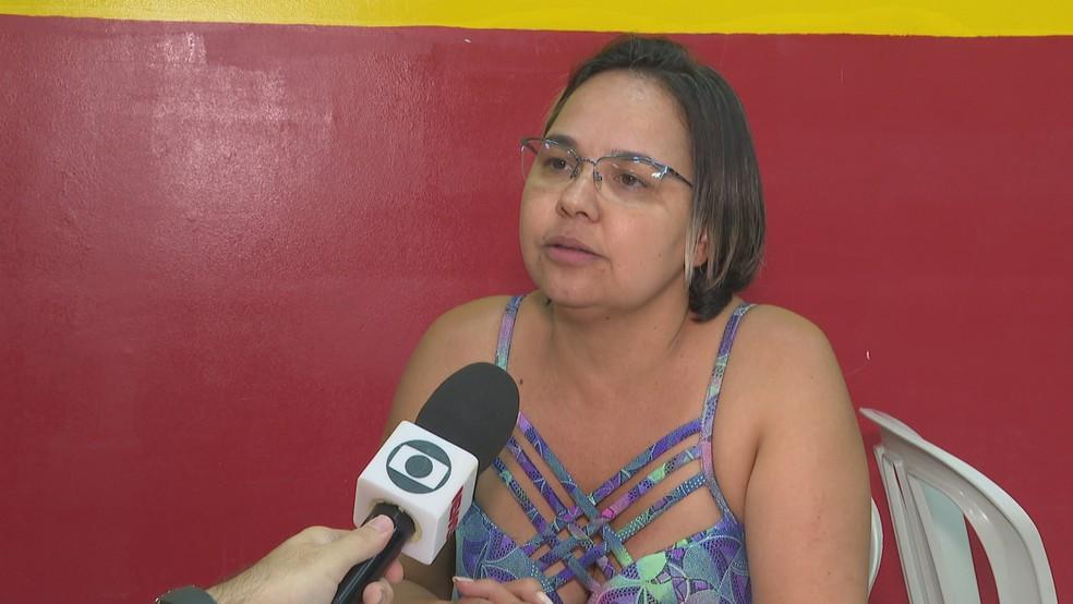 A ex-funcionária Sara Maia acusa o deputado distrital Hermeto de 'rachadinha' — Foto: Reprodução/TV Globo