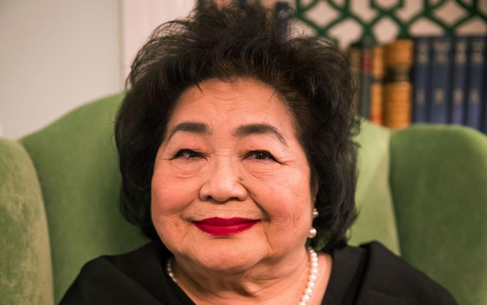 Setsuko Thurlow, sobrevivente de Hiroshima (Foto: Odd Andersen/AFP)