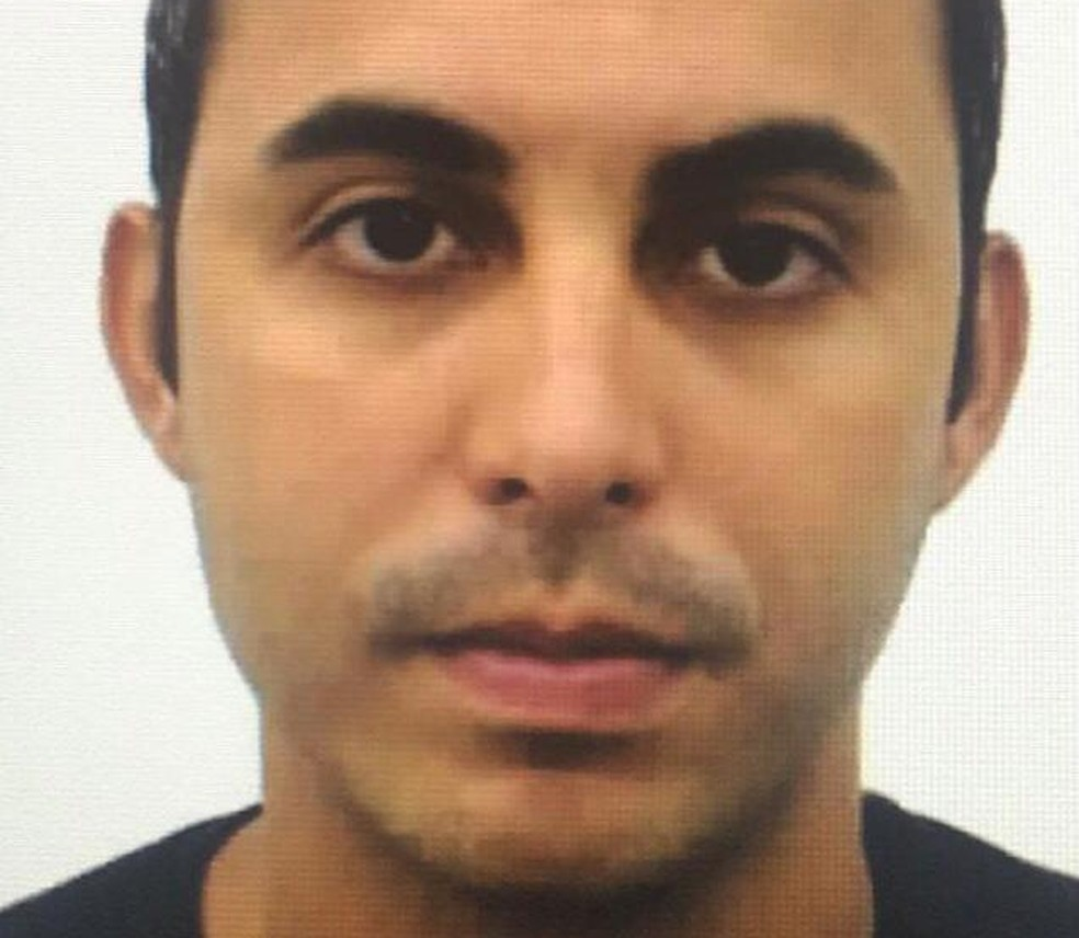 Policial militar Rodrigo Silva das Neves suspeito de envolvimento no assassinato do contraventor Fernando Iggnácio — Foto: Divulgação
