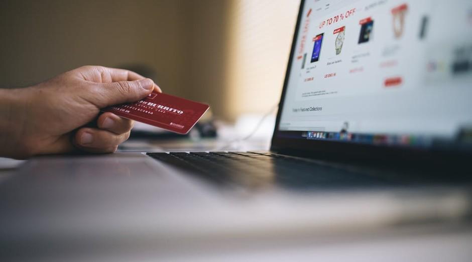 Crédito, negócios, e-commerce, comércio eletrônico, compra, site, vendas, cartão de crédito (Foto: Reprodução/Pexel)