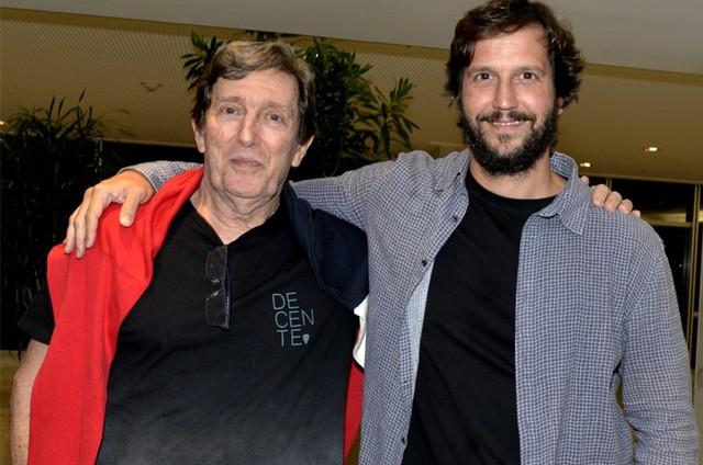 Vladimir Brichta e o pai, Arno (Foto: Cristina Granato)