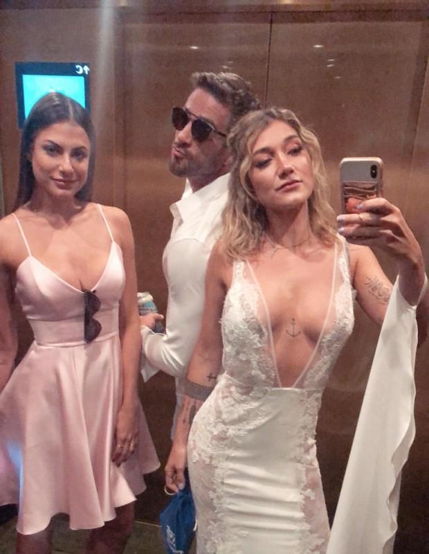 Mari Gonzalez, Erasmo e Gabriela Pugliesi (Foto: Reprodução/Instagram)