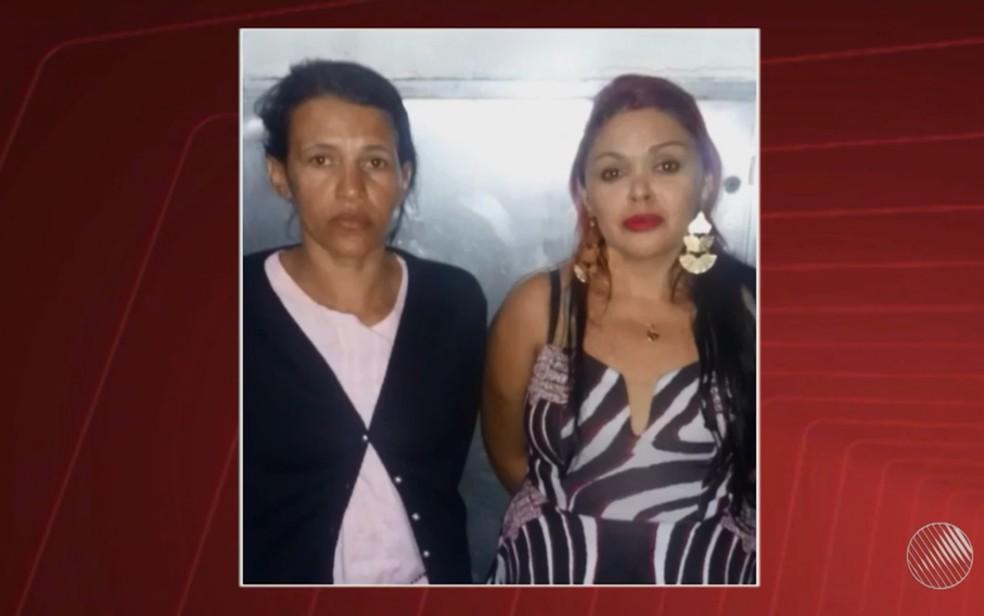 Mônica Maria e Maria Daniele estão sob julgamento nesta quinta-feira (2), em Feira de Santana (Foto: Reprodução/TV Bahia)