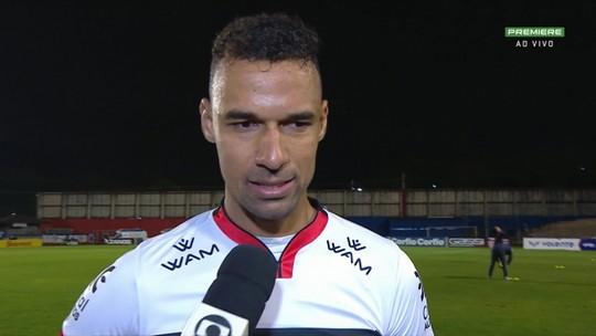 Após empate em 0 a 0, Gilvan valoriza ponto conquistado fora de casa contra o Paraná