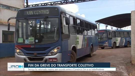 Greve do transporte coletivo termina em Porto Velho