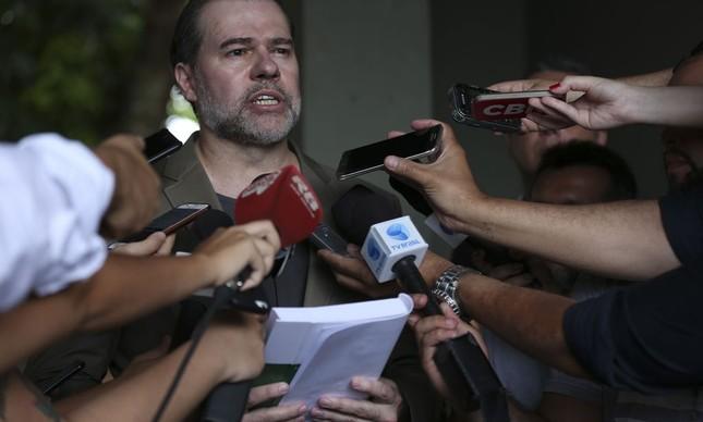 Dias Toffoli vota com a Constituição