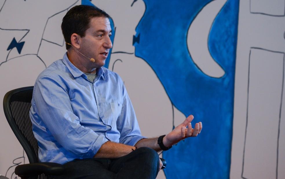 O jornalista Glenn Greenwald, que revelou o caso Edward Snowden em 2013 — Foto: Flavio Moraes/G1