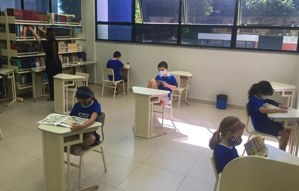 Instituições de ensino precisam cumprir distanciamento. — Foto: Divulgação
