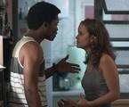 JF (Maicon Rodrigues) e  Luana (Joana Borges) | Reprodução/TV Globo