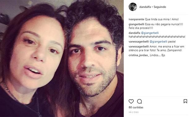 Vanessa Gerbelli e Danilo Dal Farra (Foto: Reprodução/Instagram)
