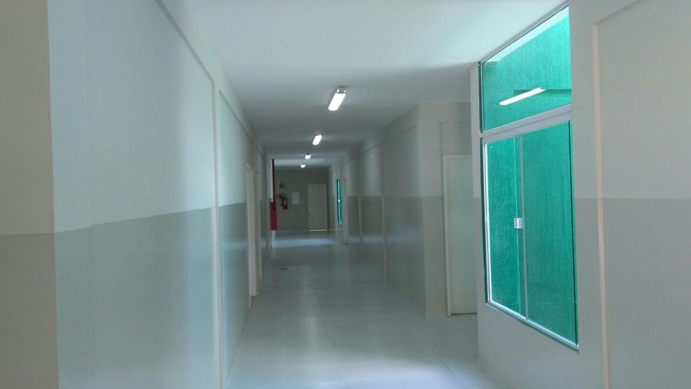 UPA de Santa Cruz, RN, está sem uso há dois anos (Foto: Marksuel Figueredo/ Inter TV Cabugi)