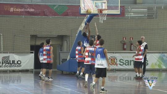 Ginásio do Sesc recebe abertura da Copa TV Tribuna de Basquete Escolar