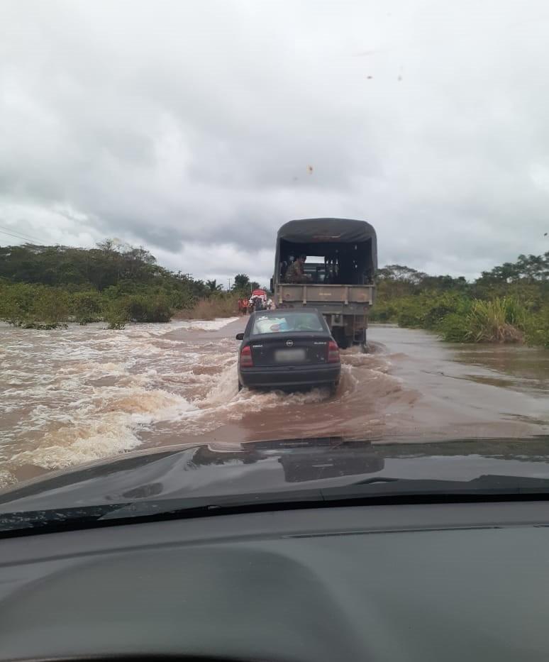 Defesa Civil Nacional reconhece  situação de emergência no Cantá, RR, por conta das fortes chuvas