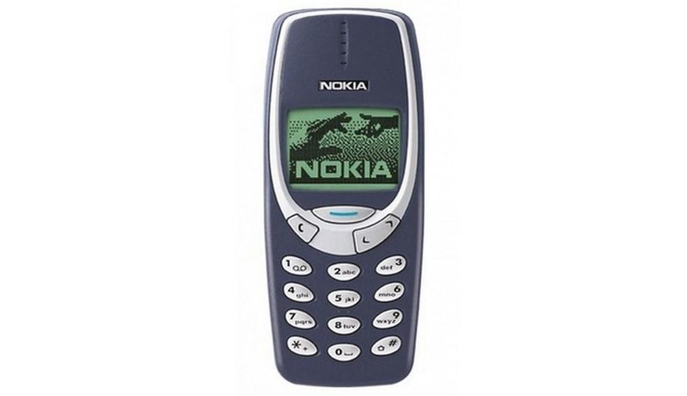 Nokia 3310 marcou época e ganhou fama de indestrutível na Internet � Foto: Divulgação/Nokia