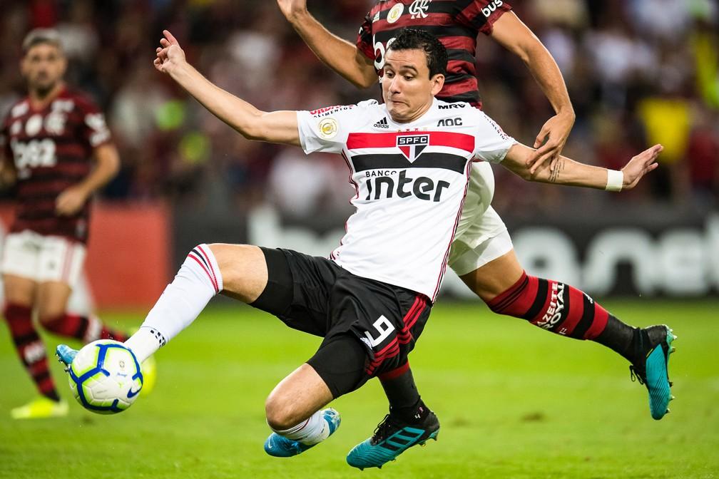 Pablo em Flamengo x São Paulo — Foto: Jorge R Jorge/BP Filmes