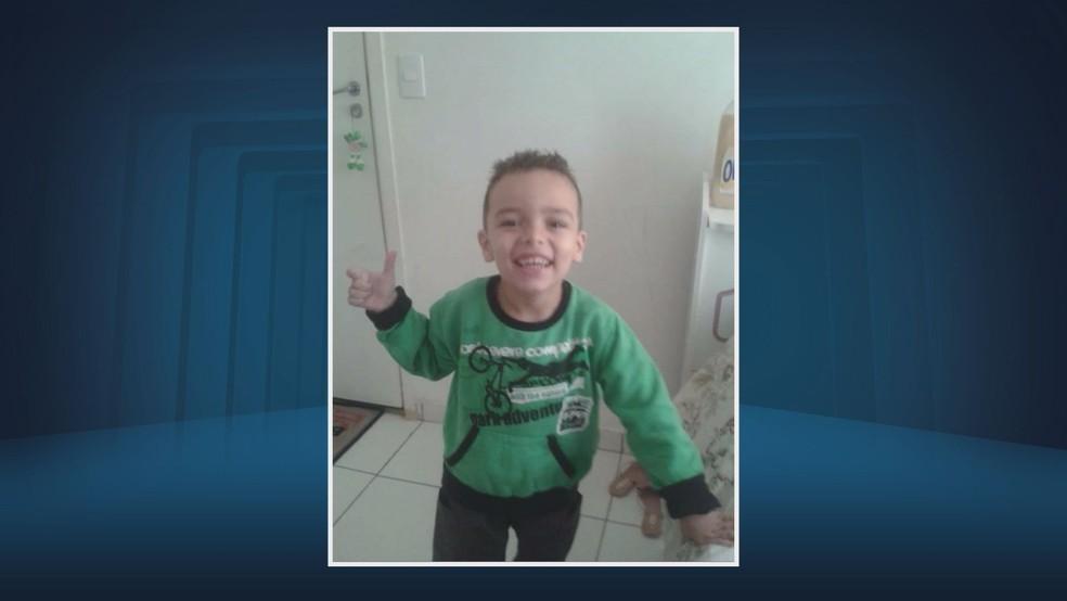 Nicolas Benette, de 7 anos, morreu depois de ficar seis dias internado em Sumaré (Foto: Reprodução/EPTV)