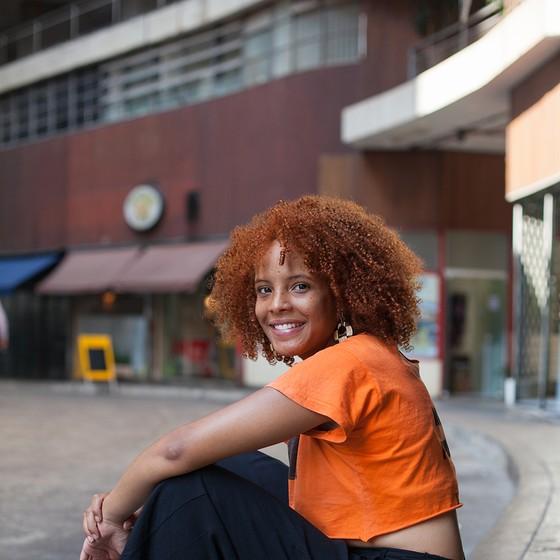 LETICIA BISPO | 17 anos | EMEFM Professor Lineu Prestes | São Paulo, SP (Foto: Tuca Vieira e Joel Rocha)