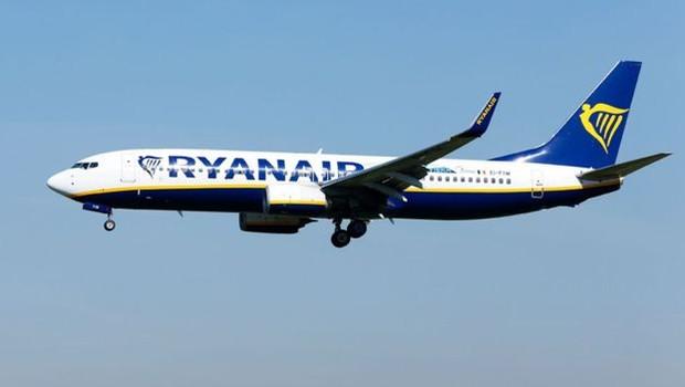 Ryanair afirmou que notificou a polícia britânica e que vai investigar episódio (Foto: PA/via BBC News Brasil)