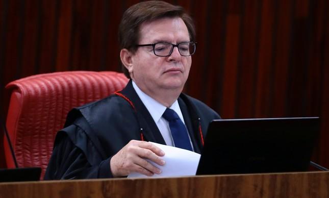 O relator Herman Benjamin