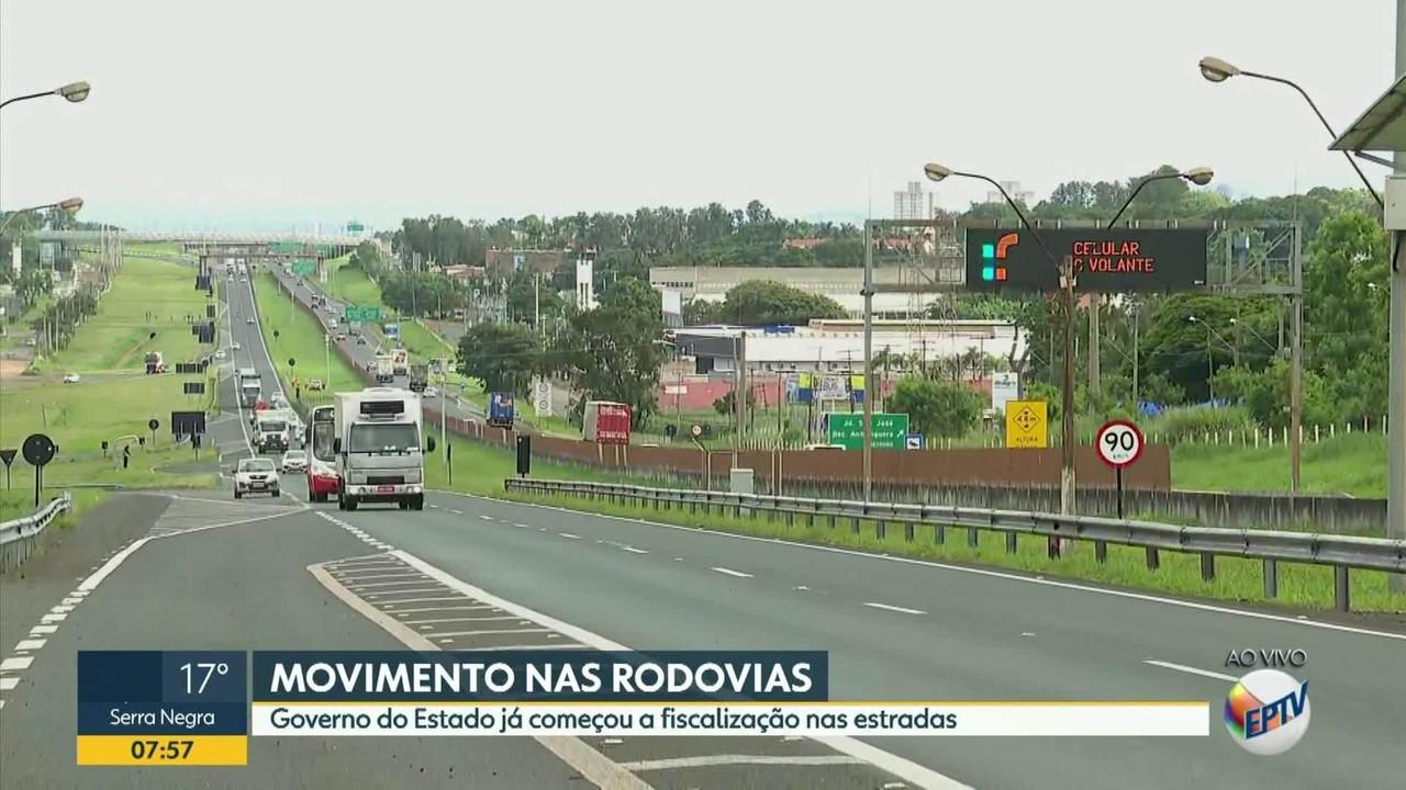 SP estima circulação de 3,5 milhões de veículos em rodovias litorâneas no fim do ano