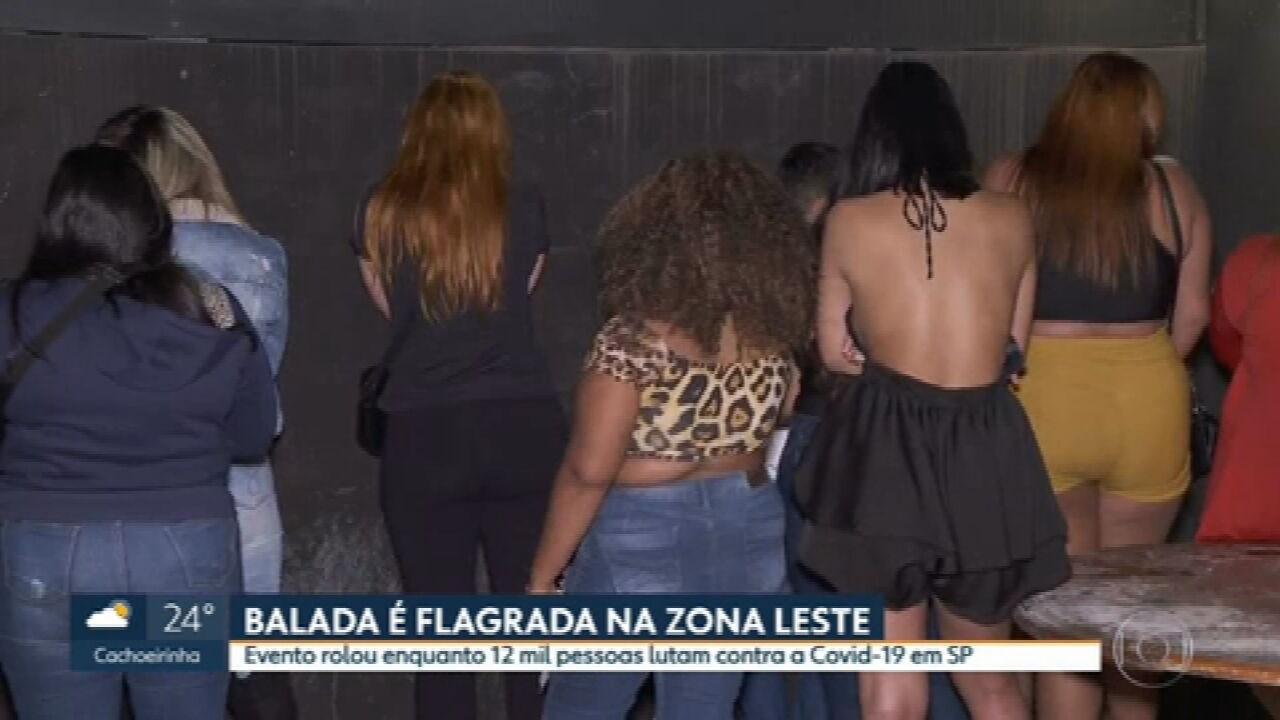 Polícia fecha mais uma festa clandestina em São Paulo