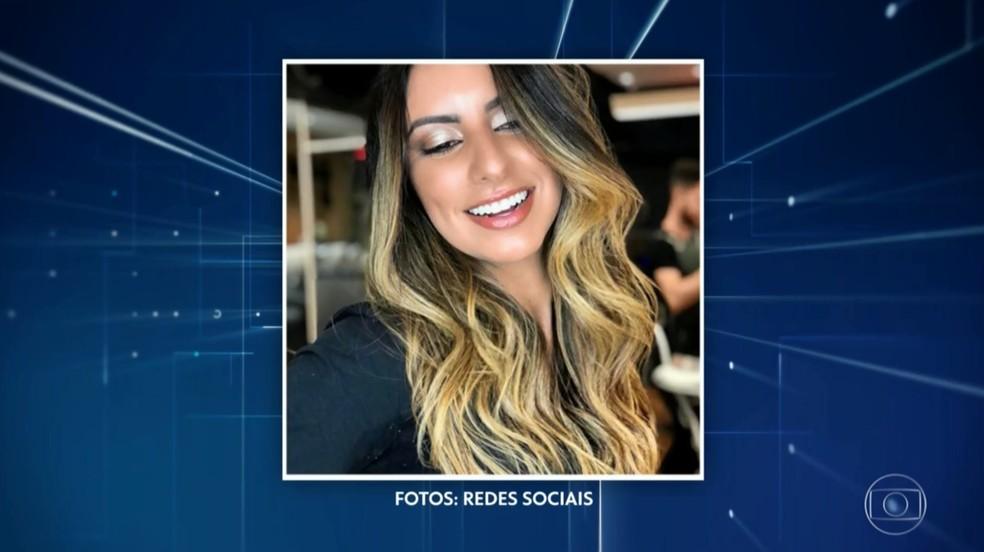 Nathália Queiroz, assessora de Bolsonaro, era personal trainer de celebridades — Foto: Reprodução/TV Globo