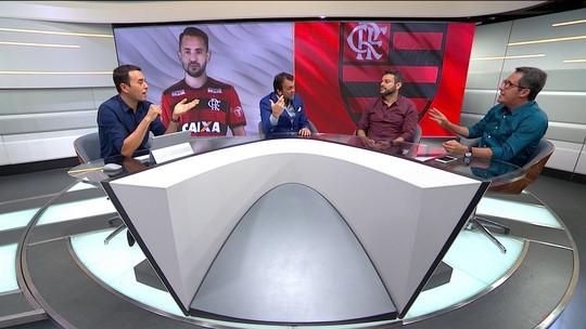 """Seleção discute boa fase de Everton Ribeiro: """"É um jogador que o Flamengo pode ter muita esperança"""", diz Eric Faria"""