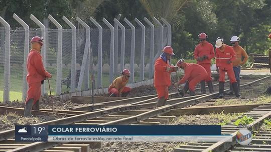 Obras para reativar trem entre São Sebastião do Rio Verde e São Lourenço entram na reta final
