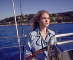 Julia Stiles em cena de 'Riviera' | Reprodução