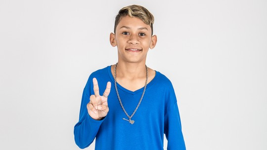 Conheça Jhony Wlad, participante do 'The Voice Kids'