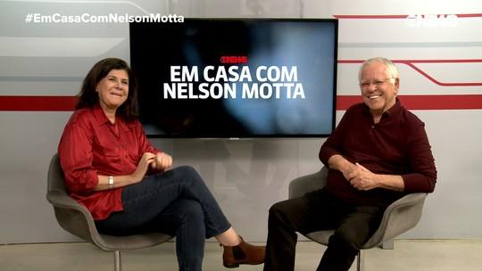 """Nelson Motta e Cristina Aragão falam sobre a 2ª temporada do """"Em Casa Com Nelson Motta"""""""