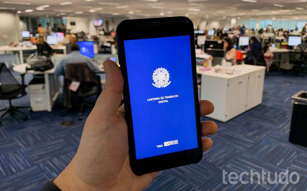 CTPS Digital irá identificar trabalhador apenas pelo CPF — Foto: Rubens Achilles/TechTudo