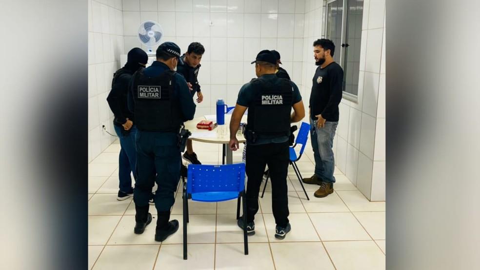 Operação foi realizada neste sábado (20) — Foto: Divulgação