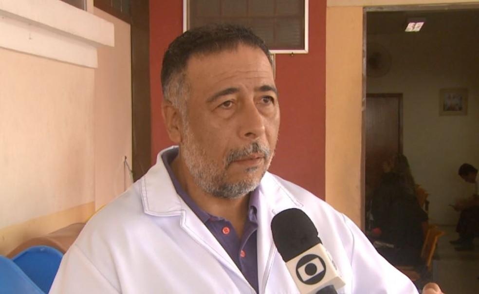 O diretor clínico da Santa Casa de Pirassununga, Álvaro Jardim — Foto: Marlon Tavoni/EPTV