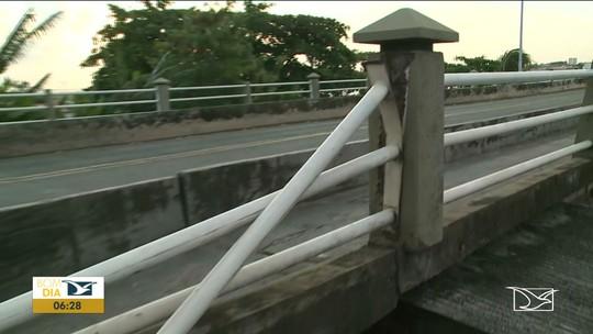 Ponte sofre pela falta de infraestrutura em São Luís