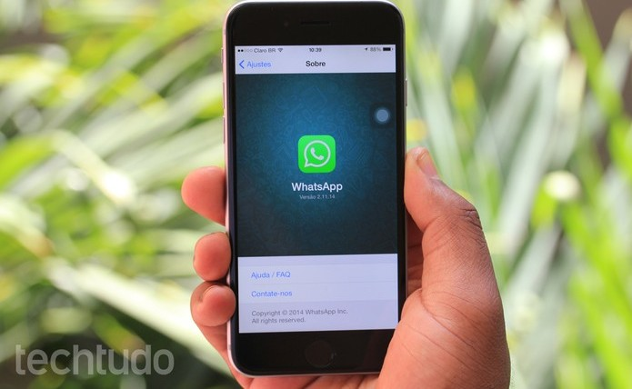 whatsapp-no-iphone3 (Foto: TechTudo)