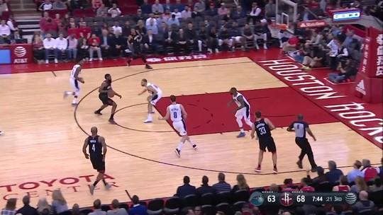 Pacotão da NBA: versão inédita de James Harden e Paul George abusado