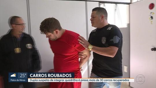Polícia prende suspeitos de chefiar quadrilha de roubo e receptação de carros
