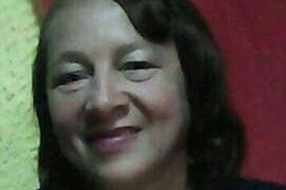 Giselma dos Anjos Rocha foi morta por criminoso após dar água para PMs na Bahia — Foto: Divulgação/Polícia Civil