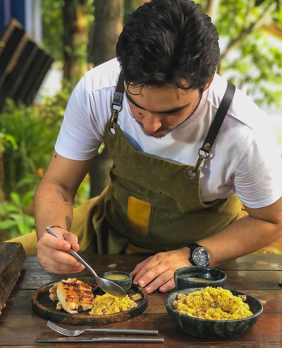 Chef Diogo Sabião — Foto: Instagram/Reprodução