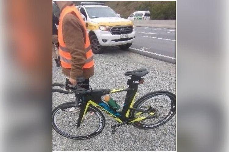 Motociclista com sinais de embriaguez atropela ciclista durante competição em SC