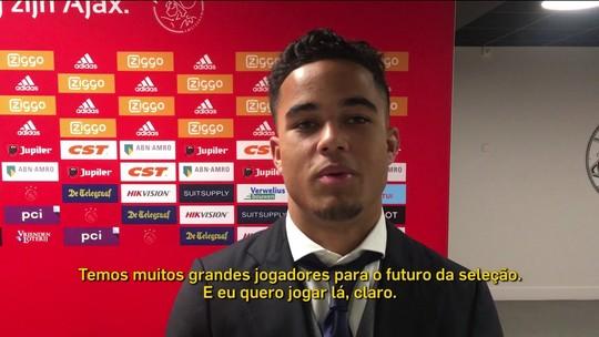 Joia do Ajax e na mira do United: filho de Kluivert diz que vai ser melhor que o pai